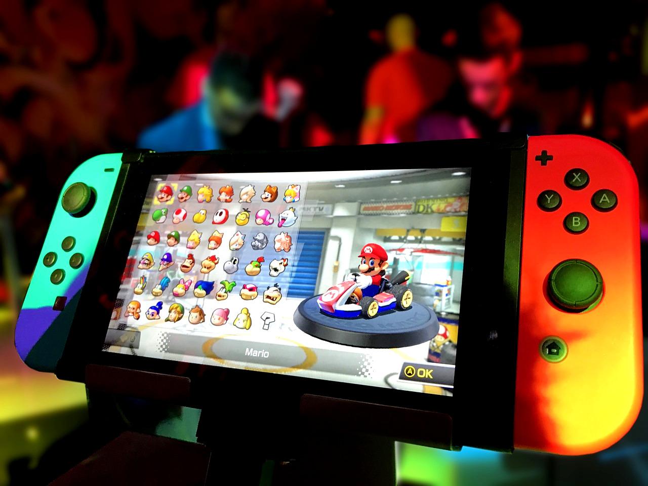 Le grand retour de Nintendo avec la sortie de sa nouvelle console : la Switch
